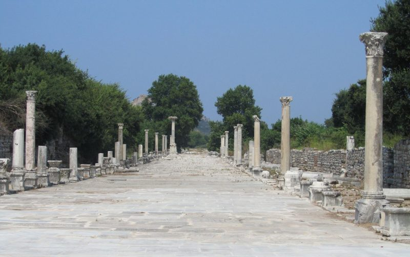 Visiting the Ancient City of Ephesus