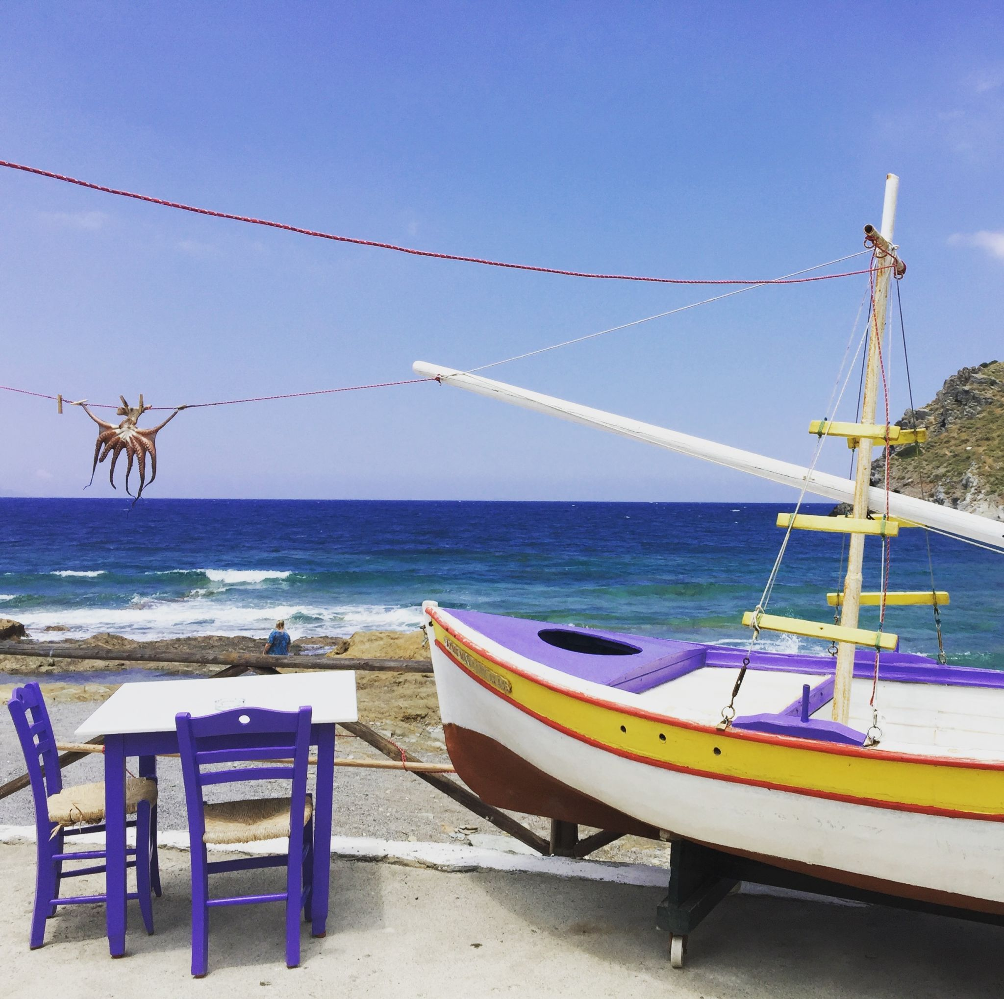Greek islands - where to go to relax with your child and yourself