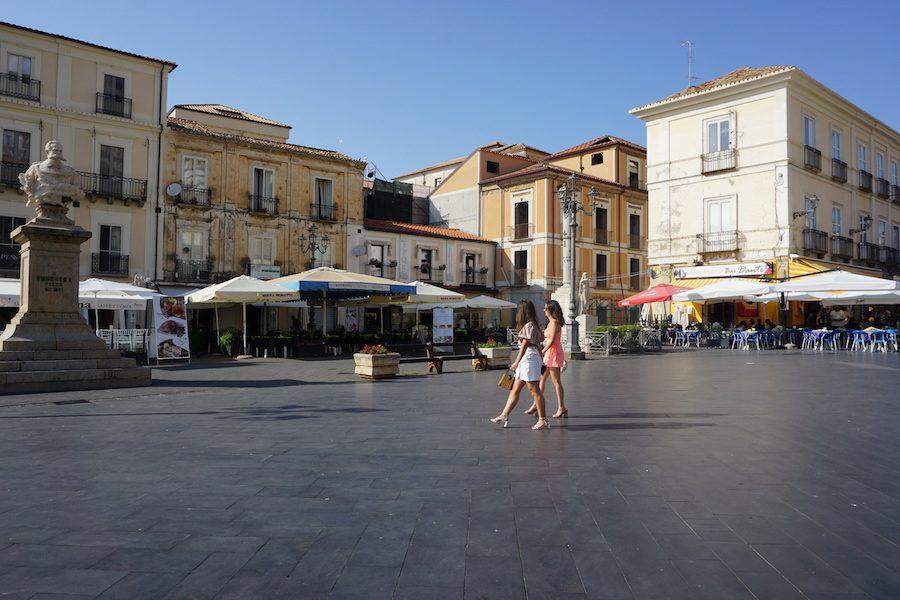 main square in pizzo