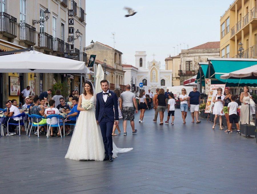 wedding couple in Italy