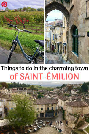 The best in Saint-Emilion, one of the most beautiful cities in France. Rent bikes and explore secret caves and churches on the subway. # st-emilion # saint-emilion #thingstodoinsaintemilion #bordeauxvacation #medievaltownsinfrance #prettyfrancevillages #bestplacestovisitinfrance #cyclingholidayfrance #familytravelfrance #undergroundtourstemilion #bordeauxvacation